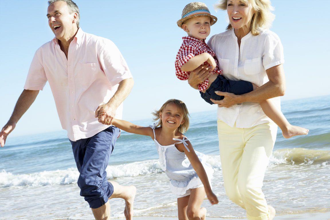 life insurance - happy family